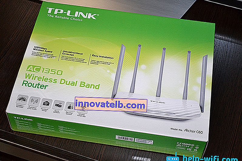 TP-Link Archer C60 Router Verpackung