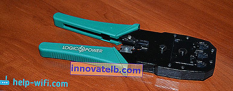 크림 퍼 : Twisted Pair Crimping Tool