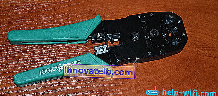 Twisted Pair Crimper Tool